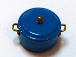 画像1: Discontinue・制作終了:煮込み鍋・ターコイズ