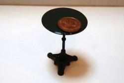 画像1: Discontinue・販売終了:カフェテーブル(グリーン)