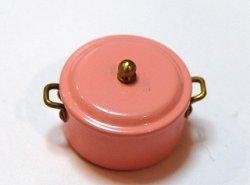 画像1: Discontinue・制作終了:煮込み鍋・ピンク