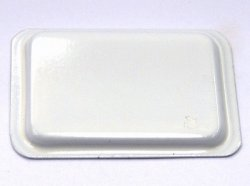 画像1: 浅バット・大(ホワイト)