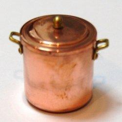 画像1: 寸胴鍋・銅製