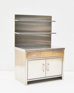 画像1: Discontinue・制作販売終了:厨房シェルフ
