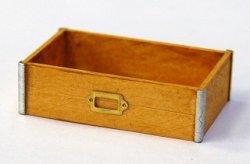 画像1: Discontinue・制作販売終了:木製ツールボックス(ナチュラルB)