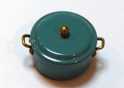 画像1: Discontinue・制作終了:煮込み鍋・ブルーグレー