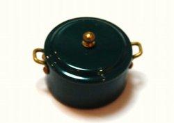画像1: Discontinue・制作終了:煮込み鍋・グリーン