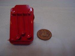 画像1: Discontinue・制作販売終了:レードルラック(赤)レードル(赤)ホーロー風仕立て