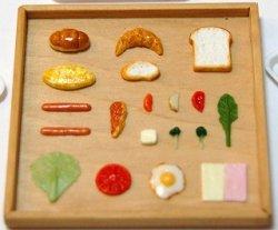 画像1: サンドイッチシリーズ:イギリスパン、クロワッサン、バターロールなど