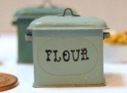 画像1: Discontinue・制作販売終了:FLOUR缶(ヤンググリーン)
